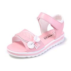 RONI Summer girl princess shoes student beach shoes kids sandals 01 27(17cm)