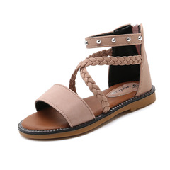 RONI Summer girl princess shoes student beach shoes kids sandals 01 27(16.6cm)