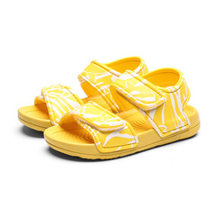 RONI Baby girl sandals boy non-slip soft-soled  fashion outdoor beach shoes 01 22(14.4cm)