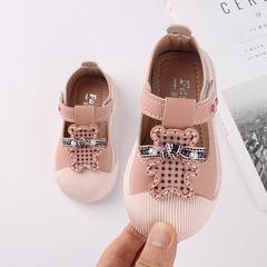 RONI 2019 Autumn new baby girl cute cartoon shoes  princess shoe kids soft-roled shoes 01 21