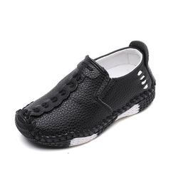 RONI Spring boy soybean shoes kids casual shoes performance casual shoes Black 27 (16cm)
