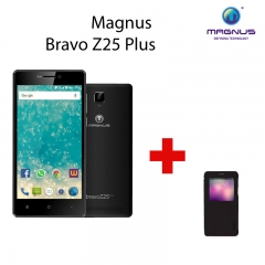 Magnus Bravo Z25 Plus- 5 Inches Display, 3G Dual SIM, 8MP+5MP Camera, 2000mAh black