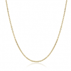 IDM Green gold Rolo chain gold one size