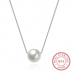 Sterling silver necklace necklace sterling silver pearl pendant necklace sterling silver one size