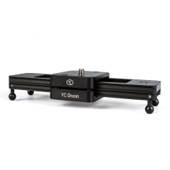 """Camera Sliders 9""""/23cm Mini Portable Track Dolly Slider for Photographing and Shooting BLACK one size"""