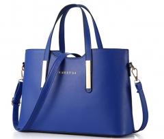 016 new summer fashion handbag Ladies Handbag NEW SHOULDER BAG blue One Size