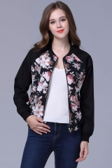 New baseball clothing women 's jacket jacket selling women in Europe and America as the picture m