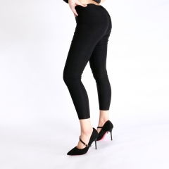 ZINC Sexy Slim thin hip pants black s