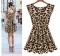 ZINC NEW fashion Nightclub sexy leopard dress as the picture l