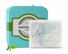 Tea tree control oil acne acne acne in addition to mites soap beauty skin care hand cold soap as the picture