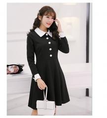 ZINC New fashion elegant black dress as the picture s