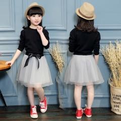 Children Kids Dress Girls Princess Skirt  Dress as the picture 110cm