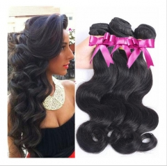 3 PIECES BUNDLE BODY WAVE 100% UNPROCESSED HUMAN HAIR 1b 8 8 8inch