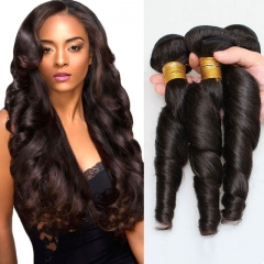 7a brazilian virgin hair 2 pieces spring curly weave unprocessed brazilian hair for black women 1b 6 6inch