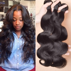 raw indian hair weave natural color cheap human hair 7a grade body wave hair weave 1b 8 8 8inch