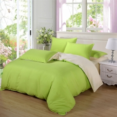 Love Home Aloe Cotton New Duvet Cover 4 Pieces Bedding Sets Green 5*6