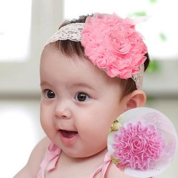 New Korean Cute Baby Hair Accessories  Flower Girl Princess Barrette x2 1