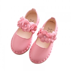 Factory Sale 2018 New Kids Girl Shoes Children Student Casual Shoes pink eur25