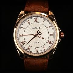 New Man Watches Business Watch Fashion Quartz Analog Watch no.1