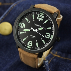 New Man Watches Waterproof Watch Fashion Quartz Analog Boy Watch no.1