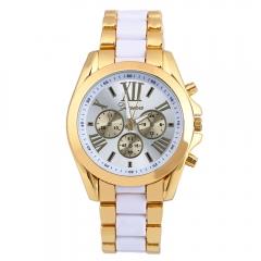 Beautiful Watch Bracelet Quartz Analog Gold Watch Girl Watch Women Watch NO.1