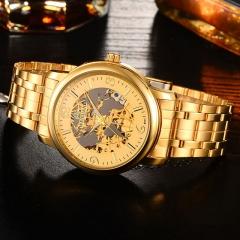 Waterproof  Watch Man Watch Fashion Mechanical Watch Gold Watch no.1