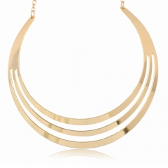 Alloy Necklace Beautiful Nice Lady Necklace,Gold Necklace no.1 normal