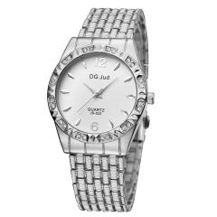 Rhinestone Watch Lady Watch Fashion Quartz Analog Women Watch silver