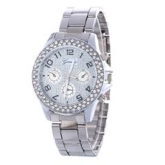 Fashionable Watch Lady Watch Quartz Analog Watch Women Watch Silver Watch silver