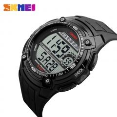 Men Digital Military Watch Multifunction Waterproof Outdoor LED Sports Watches black