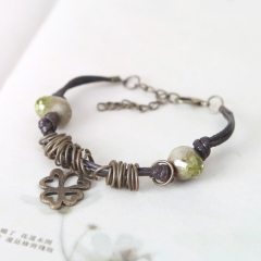 Lady Ceramic Bracelet Beautiful Girl Bracelet Nice Ceramic Bracelet Yellow normal