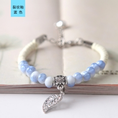 Lady Ceramic Bracelet Beautiful Girl Bracelet Fashion Ceramic Bracelet blue normal
