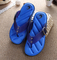 Hot Sale Brand Men Casual Flat Sandals,Leisure Flip Flops,EVA Massage Beach Slipper Shoes 40-45 blue 42