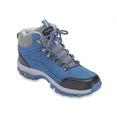 Fashion Men Fashion Patchwork Breathable Skid-resistant Hiking Shoes Blue 39