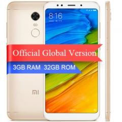 Global Version Xiaomi Redmi 5 plus 5.99 inch Full Screen Smartphone gold