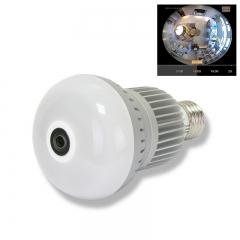 MYTECH 960P Bulb Light 360 Degree WIFI Camera 1.4mm Fisheye Panorama Indoor IR Security IP Camera