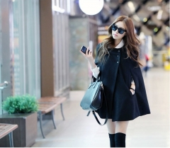 Korean Classic women Winter Jacket Winter Down Winter Coat black m