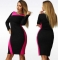 L - 6XL Hot Sale Of Large Size Dresses Summer Party A-line Dress Fashion Career red l