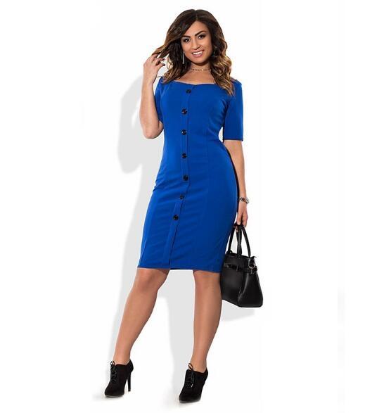 Hot Sell Bundle Waist Party A-line Dress Vintage O-neck Sleeveless Dress Lace Vintage blue xl