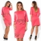 TheWomen A Line Dress A One-step Skirt And Two Pieces Outfit For Ladies Of 5 Colors red 5xl