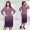 Women Clothing Elegant Office Work Dress Women  Neck Large Size Dresses Oversize Casual Midi Dress pink 5xl