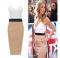 Womens Elegant Sexy V-neck Sexy Bodycon Party Dress Side Split Slim Summer Cami Dresses white xl