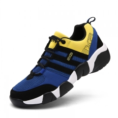 Men Outdoor  Mens Training Shoes Comfortable Sport Sneakers Men Autumn/Winter Athletic Shoe yellow 39