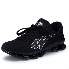 Men's Running Shoes Cushioning Outdoor Sport Men Shoes Athletic Shoes black 39