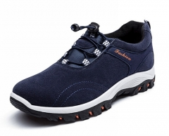New Spring Summer men light massage casual shoes men's walking shoes male outdoor shoes blue 43