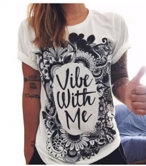 Fashion Lover Couple Floral Romance King Queen T Shirt For Valentine's Day Wedding Gift white s