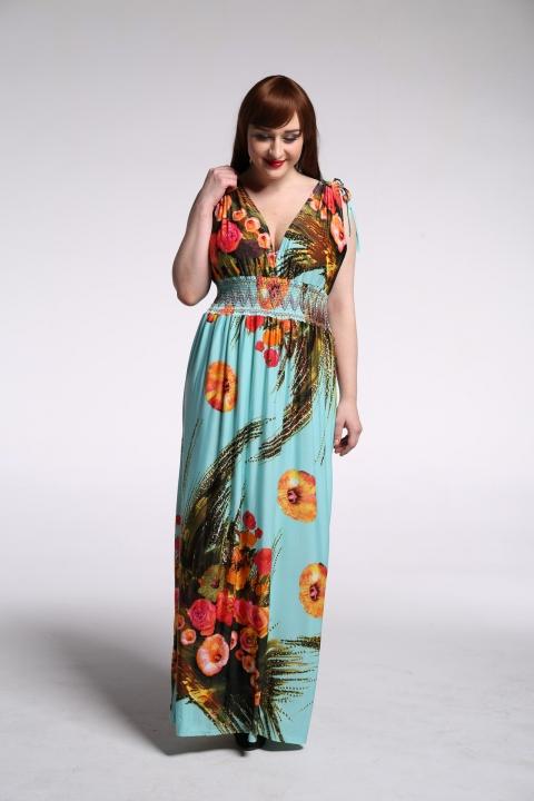 8f6f21e71d Womens Summer Elegant Boho Beach Clothing Ladies Bohemian Print Maxi Long  Dress Plus Size blue xxl