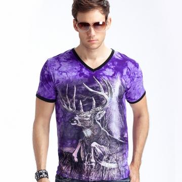 New Stylish Dolphins Print T-shirt Men/Women Brand Tshirt Fashion 3d T Shirt Tops Tees Plus Size purple xxl