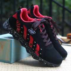 Autumn new men's casual shoes comfortable Style men's shoes Fashion Sneakers red 40