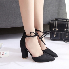 Women Fashion Buckle Ladies Shoes Wedges High Heels Platform Blue Casual Bowtie Pumps Tenis Feminino black 35